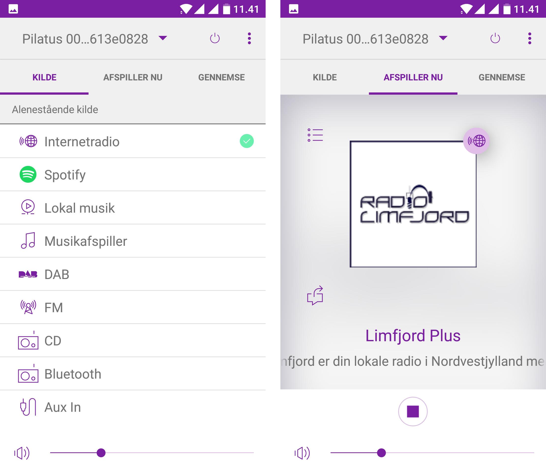 PTEC Pilatus digitalradio kan nemt betjenes via App. Uanset om du er Android eller Apple fan.