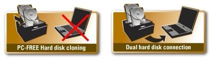 Kloning af harddisk med eller uden computer